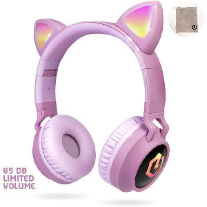 cascos inalámbricos para niño con orejas