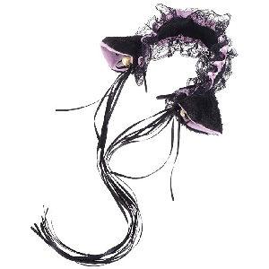Diadema estilo maid para cosplay con orejas de oveja