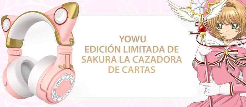 audifonos yowu con orejas card captor sakura